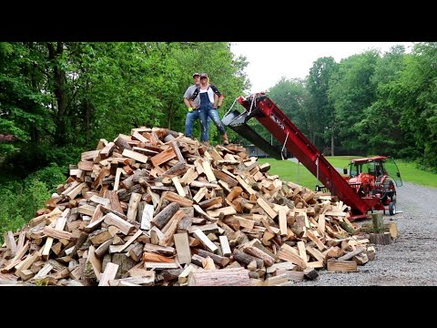#802 One of, If Not THE BEST Firewood Video on YOUTUBE!