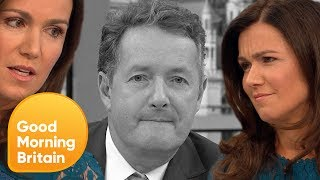 Subscribe now for more! http://bit.ly/1NbomQaSusanna has clearly had enough of Piers' negative comments regarding Love Island.Broadcast on 25/07/17Like, follow and subscribe to Good Morning Britain!The Good Morning Britain YouTube channel delivers you the news that you're waking up to in the morning. From exclusive interviews with some of the biggest names in politics and showbiz to heartwarming human interest stories and unmissable watch again moments. Join Susanna Reid, Piers Morgan, Ben Shephard, Kate Garraway, Charlotte Hawkins and Sean Fletcher every weekday on ITV from 6am.Website: http://bit.ly/1GsZuhaYouTube: http://bit.ly/1Ecy0g1Facebook: http://on.fb.me/1HEDRMbTwitter: http://bit.ly/1xdLqU3http://www.itv.com