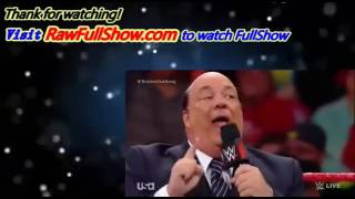 wwe raw 20 march 2017 full show this week   wwe monday night raw 20 3 17 this week