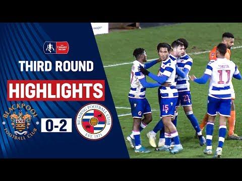 FC Blackpool 0-2 FC Reading   ( The Emirates FA Cu...