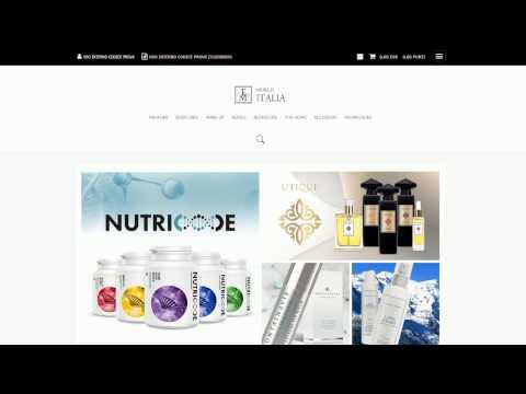 Video Tutorial - Nuovo negozio Online