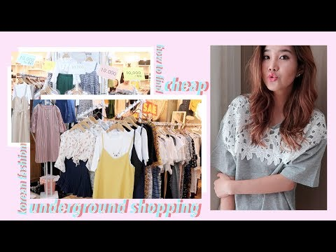 Tips for Underground Shopping + $10 Korean Fashion Haul