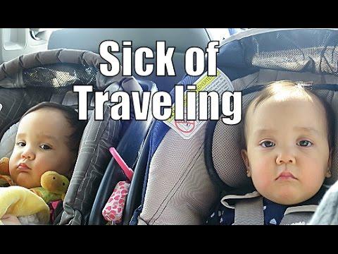 Sick of Traveling- February 20, 2015 ItsJudysLife Vlogs