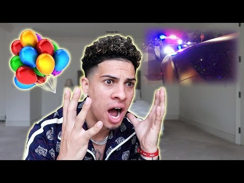 I ALMOST GOT ARRESTED ON MY BIRTHDAY...BUT ENDED UP BEING THE BEST BIRTHDAY EVER!!! (видео)