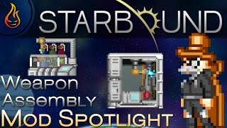 This is a mod spotlight for the Starbound mod Weapon assembly. ▻Author: alberto-rota ▻Mod Link: ...