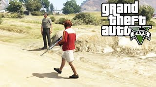 GTA 5 Online Commentary: The Protector