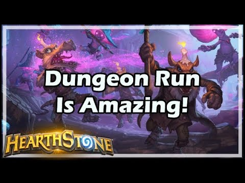 [Hearthstone] Dungeon Run Is Amazing! (видео)