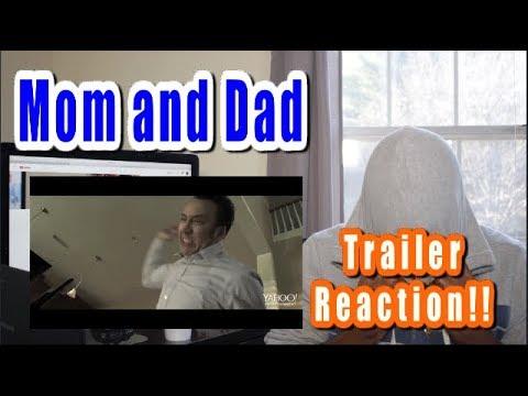 MOM AND DAD Trailer REACTION | (2018) Nicolas Cage Selma Blair