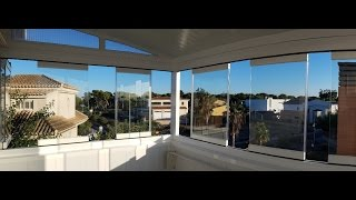 Cortinas de cristal en Grao de Castellon / Frameless glass doors in Grao de Castellon