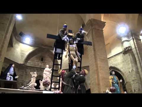 Settimana Santa ad Alghero 2012: Desclavament