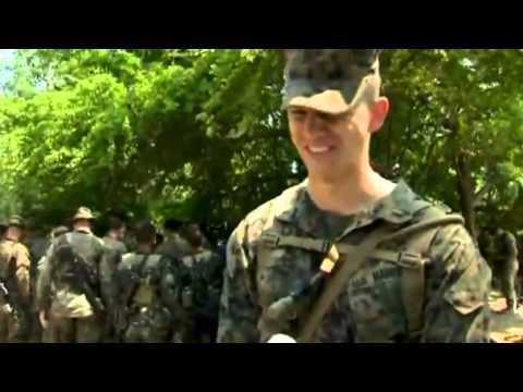 U.S. Marines Drink Cobra Blood During Military Exercise - Video