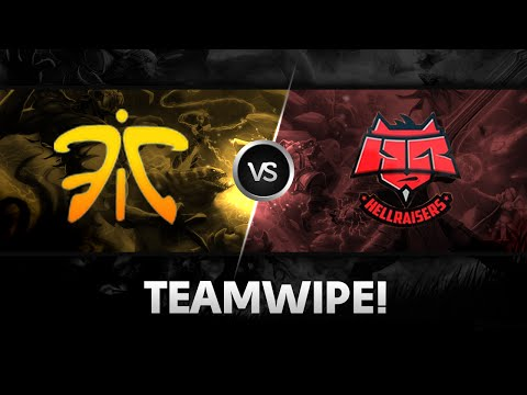 hr - Teamwipe by Fnatic vs HR @ SLTV Starseries X ======================================== Subscribe to Na`Vi YouTube channel if you like our videos: http://www.youtube.com/subscription_center?add_user=...