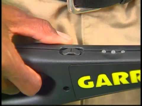 Garrett SuperWand Hand Held Metal Detector   YouTube