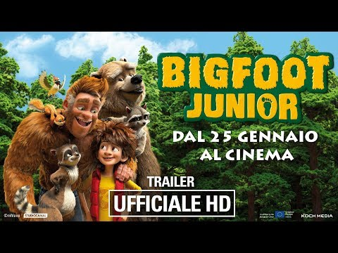 Preview Trailer Bigfoot junior, trailer italiano ufficiale