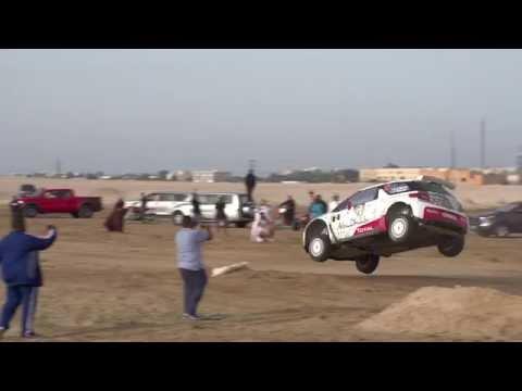 Huge Jump by Sheikh Khalid Al Qassimi Kuwait Rally 2015