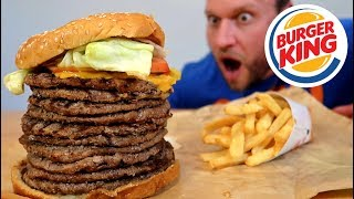 Thanks to LastPass for sponsoring this video! Click here to check LastPass for FREE: http://bit.ly/2rVoJIpBurger King's BIGGEST Whopper Ever Challenge  ➢Subscribe: http://bit.ly/Sub2FuriousPete➢Watch this next, McDonald's Most Expensive Burger: https://www.youtube.com/watch?v=evkBMmES1KE&list=PLQdB5cnMHAqe9WeUQPIByT0flx25QElLG&index=44➢Get a GOKU GAINS Tee Here: http://bit.ly/GokuGainsI decided to make the biggest whopper ever seen on YouTube. Burger King made a 7 patty Whopper before in Japan, Wendy's did a 9 patty T-Rex Burger, so I decided it was time for the 10 patty Burger King Whopper! =======================================Apparel  Lifting Gear:➢Shop Furious Apparel: http://FuriousApparel.com➢Lifting Gear: http://bit.ly/LiftingGear➢Weight Plate Necklaces: http://bit.ly/TCNecklaces Supplements  Workout Programs:➢GOKU GAINS Pre-Workout: http://FuriousFormulations.com➢Workout Programs: http://coaching.furiouspete.com=======================================Follow & Interact with me:➢Facebook: http://facebook.com/furiouspete123➢SnapChat: http://bit.ly/FuriousOnSnap➢Instagram: http://instagram.com/furiouspete➢Twitter: http://twitter.com/furiouspeteCheck Out My Other Channels:➢Furious Pete Vlogs: https://youtube.com/user/FuriousTalks➢Furious Pete Gameplay: https://youtube.com/user/FuriousGamePlay=======================================[MY FILMING EQUIPMENT: CAMERAs, MICs etc]: http://bit.ly/WhatIShootWith=======================================Watch More Furious Pete:➢Furious World Tour: http://bit.ly/FuriousWorldTour➢Food Challenges: http://bit.ly/AllFoodChallenges➢Collabs with YouTubers: http://bit.ly/CollabsWithYoutubers➢Hacks & Pranks: http://bit.ly/HacksPranks➢Popular Videos: http://bit.ly/FuriousPetePopularVids➢Latest Videos: http://bit.ly/FuriousPeteLatestVidsWatch More Furious World Tour:➢Biggest, Best & Most Famous Eats in America: https://youtube.com/watch?v=diDgHD-MEOU➢Hawaii: https://youtu.be/yEVo7erhIUU➢Seoul/Korea: https://youtu.be/ixAePROGiFc➢Vienna/Austria: https://youtu.be/fBb-BNX7xY0➢Germany: https://youtu.be/w7UDGVo6Glg =======================================Help translate my videos: http://youtube.com/timedtext_cs_panel?tab=2&c=UCspJ-h5Mw9_zeEhJDzMpkkA=======================================Fan Mail/Packages:Furious Pete1801 Lakeshore Rd W Unit 6PO Box 52559 Turtle CreekMississauga, ON, L5J 4S6 CanadaBusiness Inquires Only: Events@furiouspete.com
