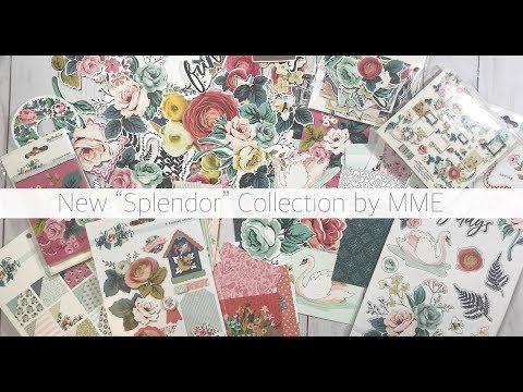 "ONLINE CRAFTY HAUL - NEW ""SPLENDOR"" COLLECTION BY MME"