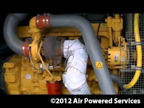 Atlas Copco XRVS476 High Pressure Diesel Compressors availab