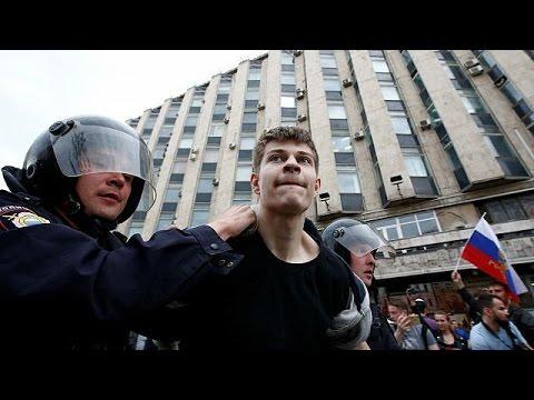 Ρωσία: Συλλήψεις εκατοντάδων διαδηλωτών, μεταξύ αυτών ο Ναβάλνι