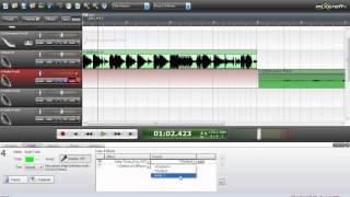 Обзор основных функций Mixcraft