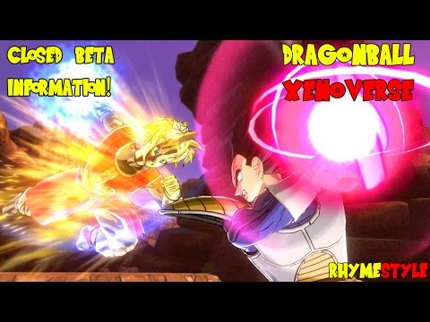 Closed - The Dragon Ball Xenoverse closed beta is starting soon so make sure you sign up for an entry ticket!! *** BECOME A SUPER SAIYAN: http://bit.ly/SuperSaiyan *** -- http://twitter.com/rhymestyle...