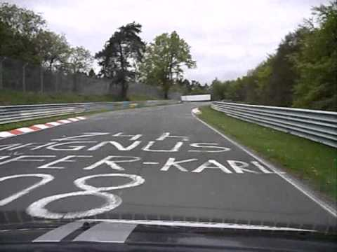Alex Swift Hire Nurburgring Lap