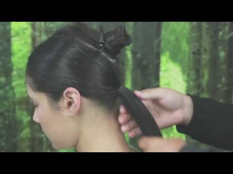 How to Create a Double Layered Plait and Ponytail ¦ Josh Denholm ¦ Layered