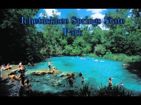 A walk through a historic blue springs, at Ichetucknee Springs State park