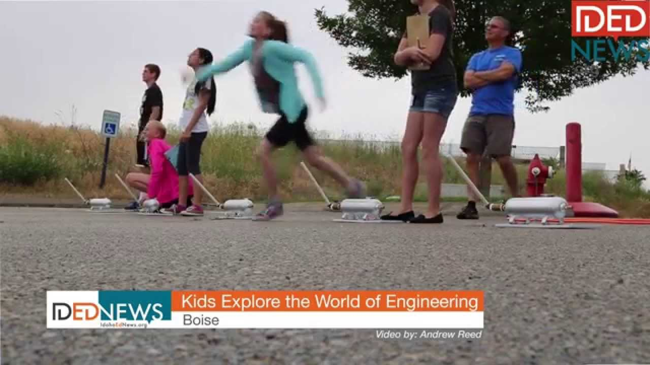 Kids explore the world of engineering