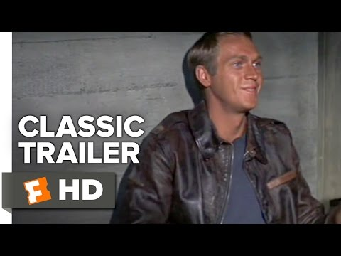 The Great Escape (1963) Official Trailer - Steve McQueen Movie