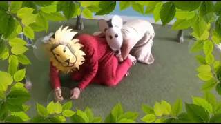 Story enactment Lion and Mouse Part 3