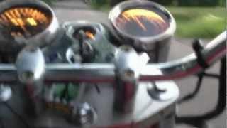 10. 2005 Hyosung GV250 Motorcycle Ride Sound Walkaround