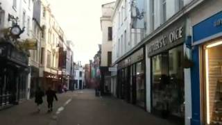 Isle Of Man United Kingdom  City new picture : The Shopping District in Douglas, Isle of Man, UK