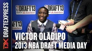 Victor Oladipo - 2013 NBA Draft Media Day Interview