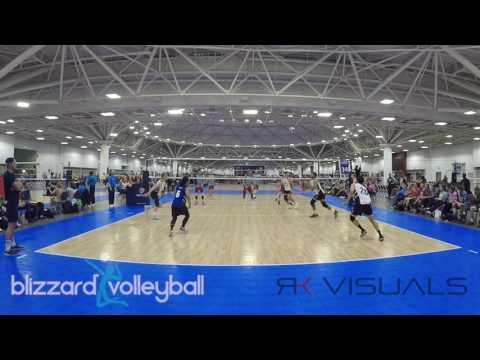 Blizzard Volleyball 2017 Mens Highlights - USAV Nationals