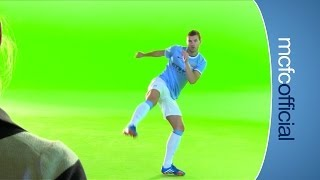 INSIDE CITY 95 - Dzeko Hart Micah and Navas make an advert