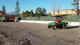 9. 2006 John Deere Gator TX Utility Cart