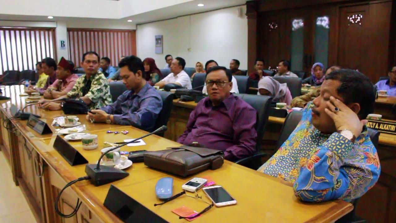 Rabu 01 Maret 2017 Kunker Kota Tasikmalaya & Kab Muaro Jambi