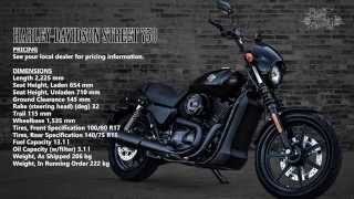 2. 2015 Harley-Davidson Street 500 & 750 Review | Specifications, Start-up, Engine