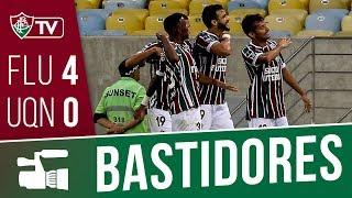 Bastidores de Fluminense 4 X Universidad de Quito