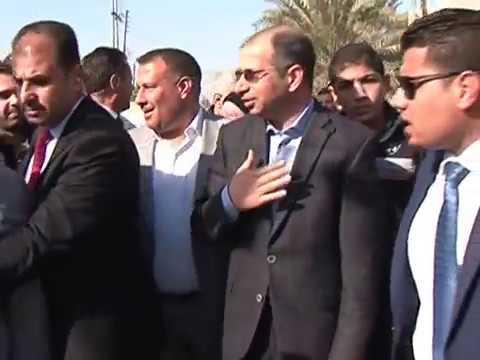 رئيس البرلمان د سليم الجبوري يؤدي صلاة الجمعة في جامع ملوكي في منطقة العامرية ببغداد