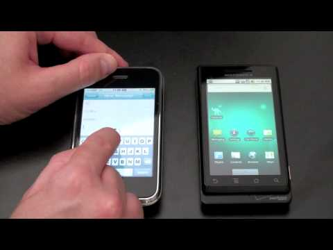 0 Motorola Droid vs. iPhone 3GS Video