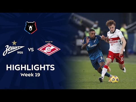 Highlights Zenit vs Spartak (3-1) | RPL 2020/21