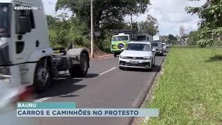 'Tratoraço' em Bauru é marcado por veículos de passeio