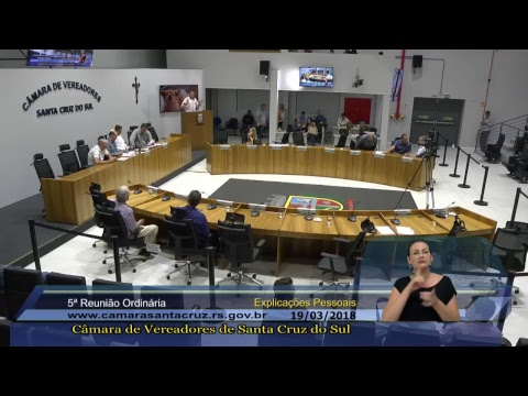5ª Reunião Ordinária - 19/03/2018
