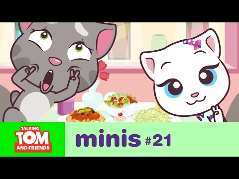 Talking Tom and Friends Minis - Camera Shy (Episode 21) (видео)