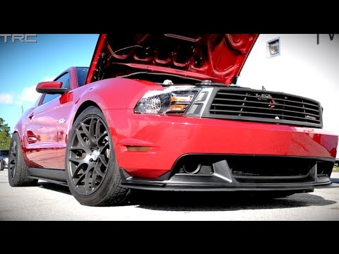 Twin turbo Coyote Mustang run sin the 9s with stock motor, transmission