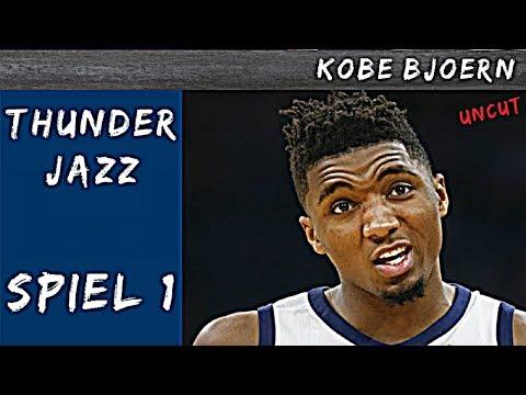 OKC Thunder gegen Jazz Spiel 1 (NBA Playoff Analyse) - KobeBjoern uncut