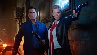 Ash vs Evil Dead: Bruce Campbell Teases New Villains - Comic Con 2016 by IGN