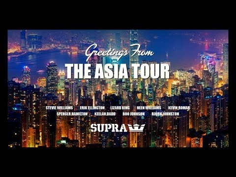 Supra   The Asia Tour | Video